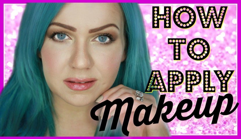 HOW TO APPLY MAKEUP: STEP-BY-STEP FOR BEGINNERS - COVER GIRL, MAYBELLINE AND ESSENCE COSMETICS