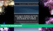 PDF  Lo que todo autor debe conocer al escribir su obra: Una monografía sobre derechos de autor,