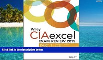 Price Wiley CIAexcel Exam Review 2015, Part 1: Internal Audit Basics (Wiley CIA Exam Review