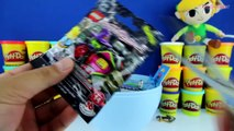 GIANT LINK Surprise Egg Play Doh - Nintendo Zelda Toys Lego Transformers Minecraft