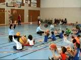 Ecole de basket 2016  fête de noël STRASBOURG LIBELLULES BC