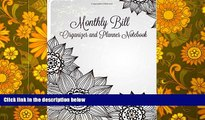 Best Price Monthly Bill Organizer and Planner Notebook (Simple Budget Planners-Includes Bill