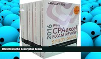 Best Price Wiley CPAexcel Exam Review 2016 Study Guide January: Set (Wiley Cpa Exam Review) O. Ray