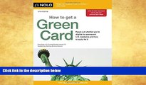 Buy NOW  How to Get a Green Card Ilona Bray JD  Book