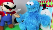 Cookie Monster and Mario Gift Exchange Pizza Cutter and Cookie Cutters Sesame Street Toys LKsEtVxrjk