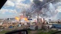 L'explosion d'un marché de feux d'artifice fait des dizaines de morts au Mexique