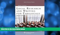 Buy Deborah E Bouchoux Legal Research   Writing for Paralegals Seventh Edition (Aspen College)
