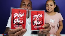 BURN OR BLISS! Extreme Hot & Spicy Chocolate Challenge - Family Fun Games