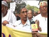 Rally of safe democracy forum: participants calls for peace