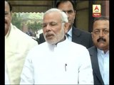 PM Modi hopes parliament winter session will be fruitfull