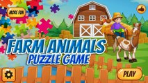 Farm Animals Puzzles Games, educational and funny game for preschool kids & Families by Nar Kids