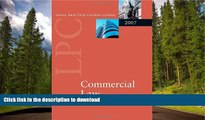 PDF [DOWNLOAD] Commercial Law (Blackstone Legal Practice Course Guide) READ ONLINE