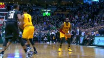LeBron James tue le match avec un tir de très, très loin