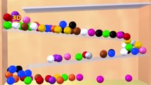 Learning Colors With 3D Color Balls Game, Teaching Colours for ...