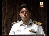 Mumbai coast guard on sinking ship in the sea