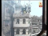 Fire gutted a plywood godown at  bowbazar