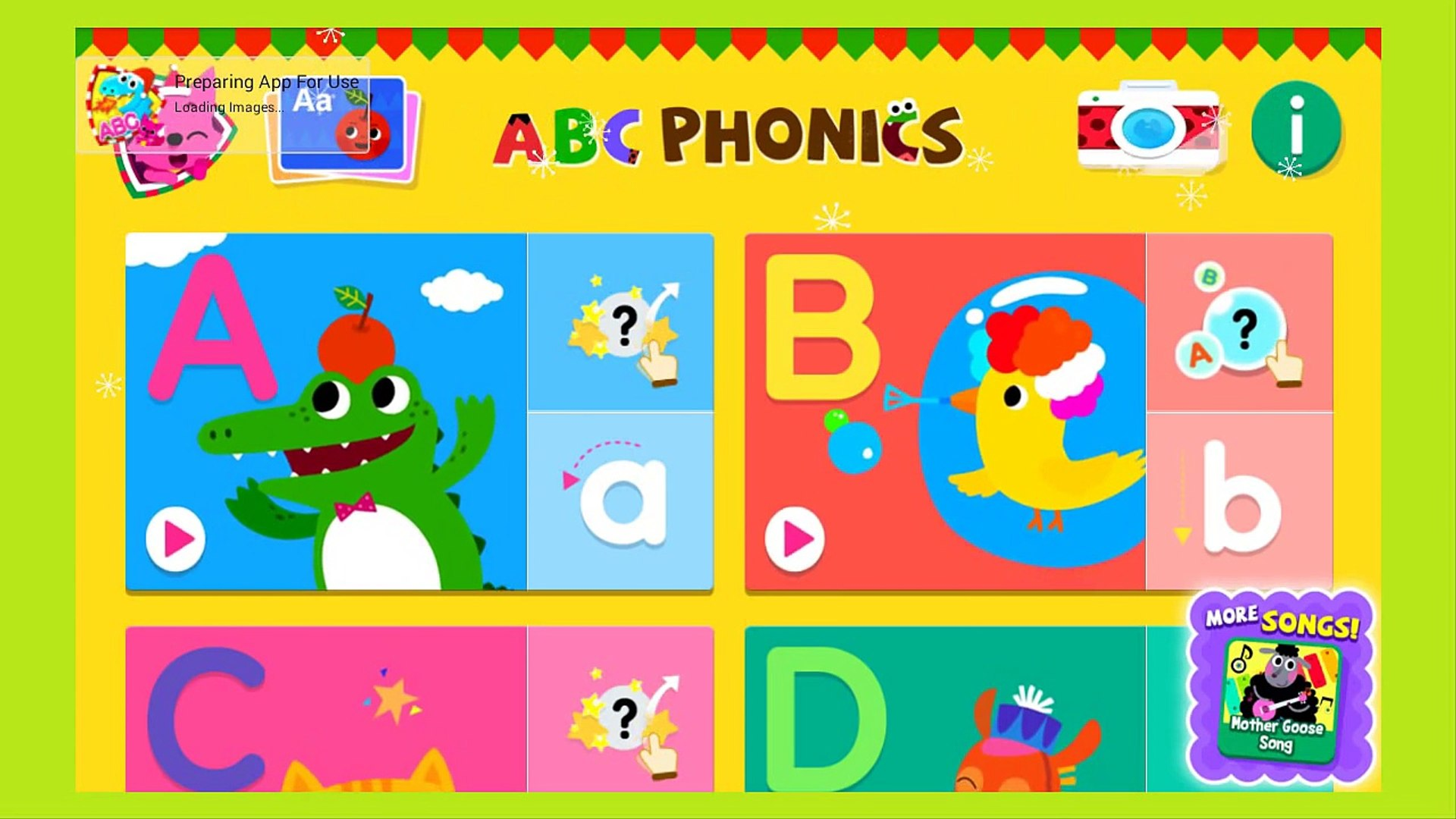ABC Phonics - Kids Learn Alphabet - Education App gameplay video for Kids