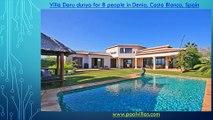Villa Daru dunya for 8 people in Denia, Costa Blanca, Spain
