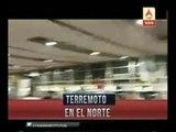 Massive 8.3 earthquake shakes Chile