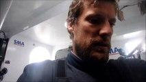 J45 : La réaction de Paul Meilhat suite à son avarie de quille / Vendée Globe