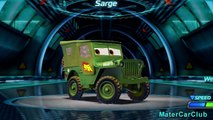 Sarge Disney Cars Color Changers Custom Paint! Pixar Cars 2 Video Game Characters!