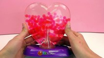 Orbeez Light up Heart jeu de couleurs magique dans un petit cœur Démo Partie 2 | Français | Aquarium