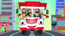 scary wheels on the bus | halloween rhymes | nursery rhymes | kids songs | scary rhymes