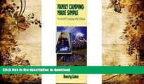 Deals in Books Family Camping Made Simple: Tent and Rv