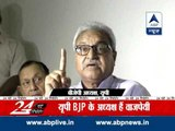 UP BJP chief openly threatens Moradabad SSP