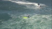 Le surfeur Jamie Mitchell remporte le WSL Nazaré Challenge sur les plus grandes vagues du monde