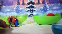 Oeufs surprises la Reine des Neiges avec Anna Elsa Olaf ❄ Jouet de la reine des neiges en français