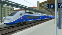 Train Simulator 2017 Gameplay TGV High Speed Train Marseille to Avignon