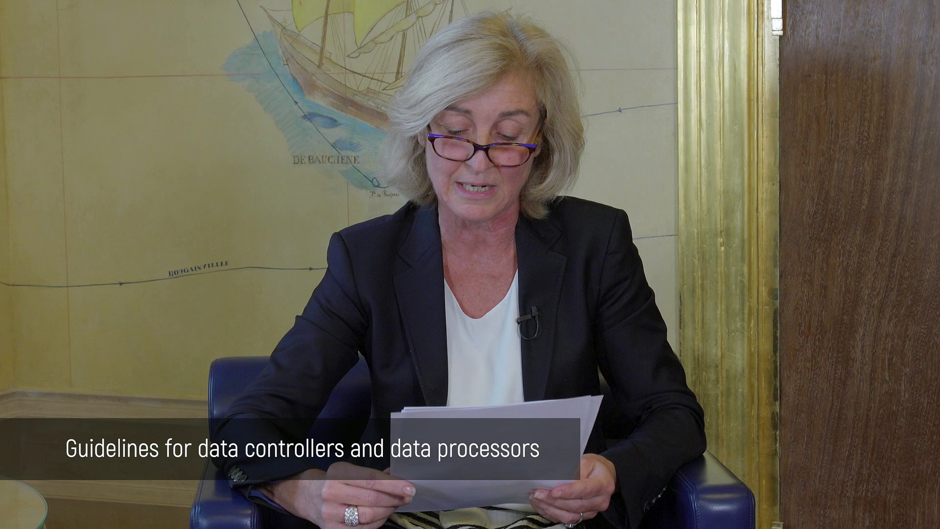 """Isabelle Falque-Pierrotin : """"this GDPR is a major cultural change in Europe"""""""