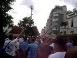 PSG-OM, AUX ARMES dans paris !!!!!!vers le parc