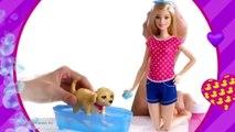 Mattel | Barbie Son Chien Heure Du Bain | Barbie Kąpiel Pieska | DGY83 | TV Toys