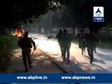 BHU students vandalise, set vehicles on fire over student union election issue