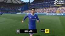 FIFA 17 : les visages et les notes de Chelsea