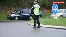 Saint-Brieuc. Des contrôles routiers pour sensibiliser avant les fêtes