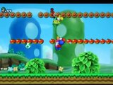 Play as MRS. MARIO / Tie-Die Luigi on a SPIDERMAN yoshi in New Super Mario Brothers wii texture hack
