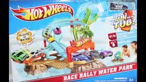 Cars Color Changers Play Set Hot Wheels Fun For The Tub Race Rally Water Park Toy