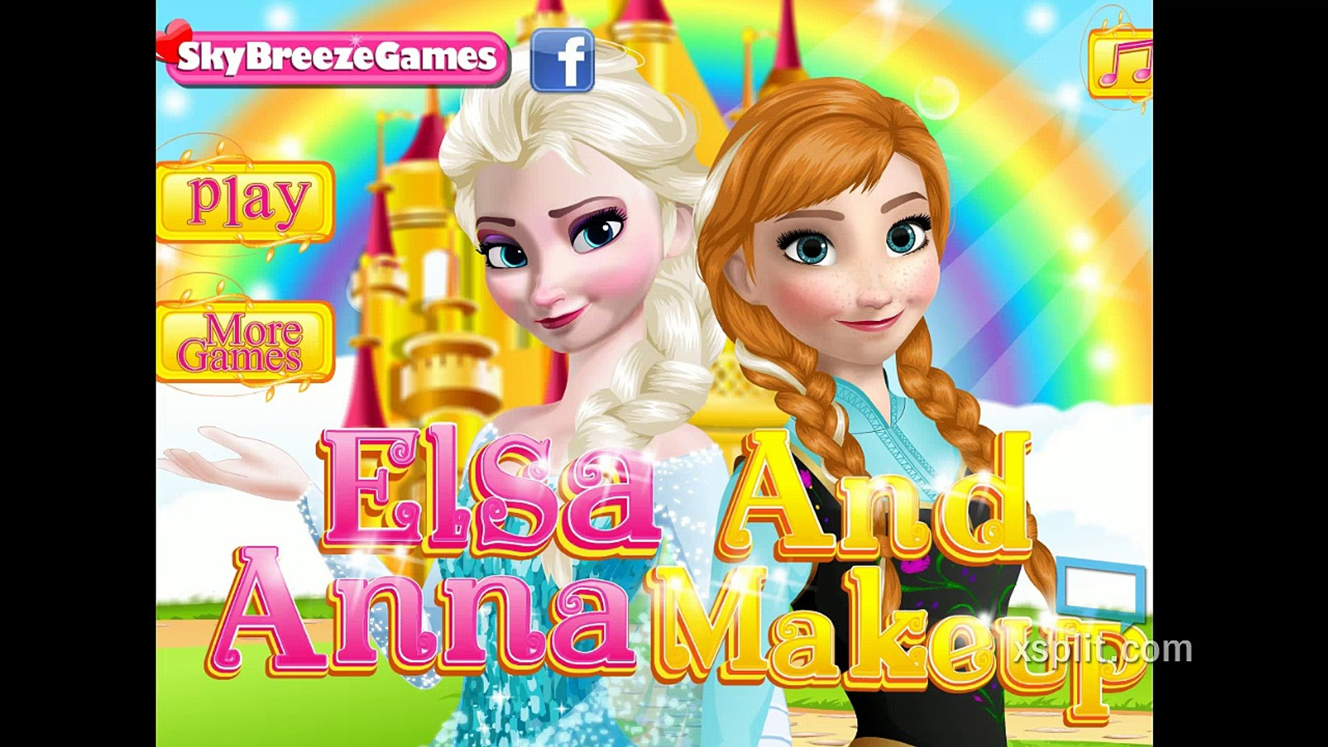 Elsa And Anna Makeup Frozen Fashion & Beauty Competitions
