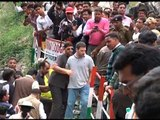 ABP News EXCLUSIVE: Rahul Gandhi reaches Gaurikund with Uttarakhand CM Harish Rawat