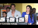 Ajay Devgn, Rohit Shetty And Kareena Kapoor Khan Attend The Merchandise Launch For 'Singham Returns'