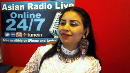 Asma Chaudhary's Interview with Master Nishad at Asian Radio Live