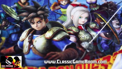 Classic Game Room - DRAGON QUEST HEROES review for PS4