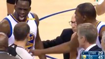 Steph Curry Matches Jazz Starting Lineup in Points, Draymond Green Can't Find Anyone to Kick