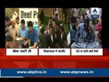 From Beef party to ink smearing incident: Watch Engineer Rashid now protest in Delhi