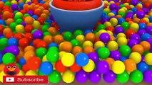 LEARN 3D COLORS Surprise Eggs 3D Giant Surprise Eggs Balls for Kids Toddlers Color Balls