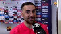 "Paco Alcácer: ""It's special scoring in this shirt"""