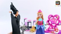 Barbies True Identity REVEALED Evil Witch Princess Cinderella Elsa Anna Frozen Let it Go Doll
